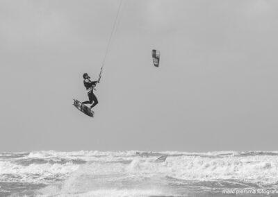 Kitesurfen Wijk aan Zee Noordpier